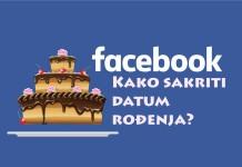 Kako sakriti datum rođenja na Facebooku