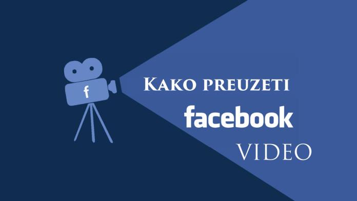 Kako skinuti video sa Facebook-a