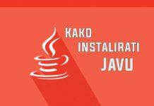 Kako instalirati Javu